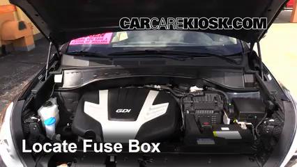 2013 Hyundai Santa Fe GLS 3.3L V6 Fusible (moteur)