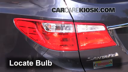 2013 Hyundai Santa Fe GLS 3.3L V6 Éclairage