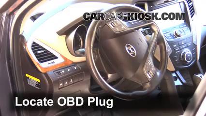 2013 Hyundai Santa Fe GLS 3.3L V6 Lumière « Check engine » du moteur
