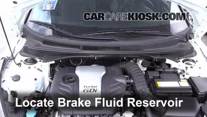 2013 Hyundai Veloster Turbo 1.6L 4 Cyl. Turbo Liquide de frein