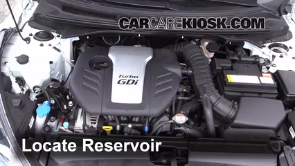 2013 Hyundai Veloster Turbo 1.6L 4 Cyl. Turbo Liquide essuie-glace