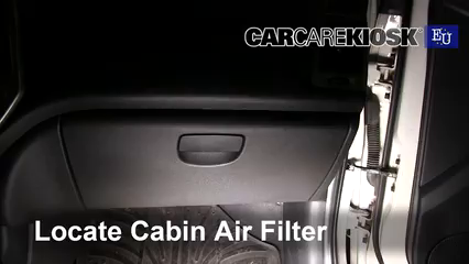 2013 Hyundai i20 Classic 1.2L 4 Cyl. Filtre à air (intérieur)