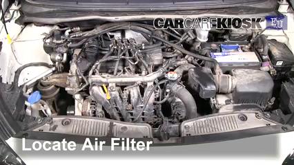 2013 Hyundai i20 Classic 1.2L 4 Cyl. Filtre à air (moteur)