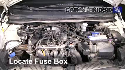2013 Hyundai i20 Classic 1.2L 4 Cyl. Fusible (moteur)