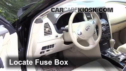 2013 Infiniti FX37 3.7L V6 Fusible (intérieur)