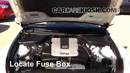2013 Infiniti G37 X 3.7L V6 Coupe Fusible (moteur)