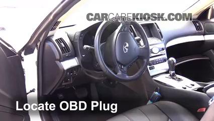 2013 Infiniti G37 X 3.7L V6 Coupe Lumière « Check engine » du moteur