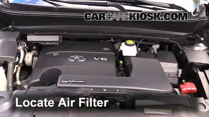 2013 Infiniti JX35 3.5L V6 Air Filter (Engine)
