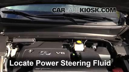2013 Infiniti JX35 3.5L V6 Power Steering Fluid