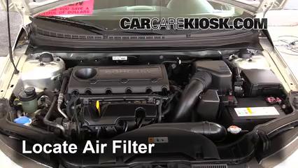 2013 Kia Forte Koup SX 2.4L 4 Cyl. Air Filter (Engine)