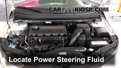 2013 Kia Forte Koup SX 2.4L 4 Cyl. Power Steering Fluid