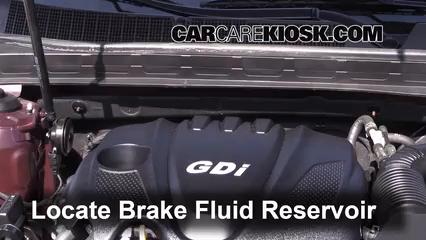 2013 Kia Optima LX 2.4L 4 Cyl. Brake Fluid