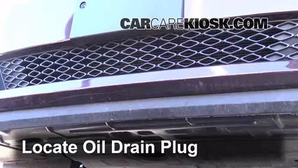 2013 Kia Optima LX 2.4L 4 Cyl. Oil Change Oil and Oil Filter