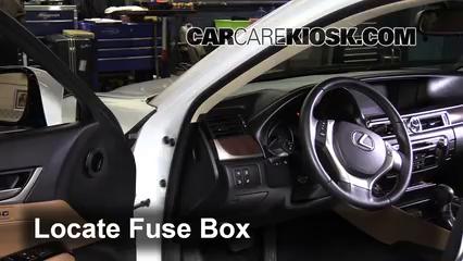 2013 Lexus GS350 3.5L V6 Fuse (Interior) Replace