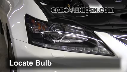 2013 Lexus GS350 3.5L V6 Lights Daytime Running Light (replace bulb)