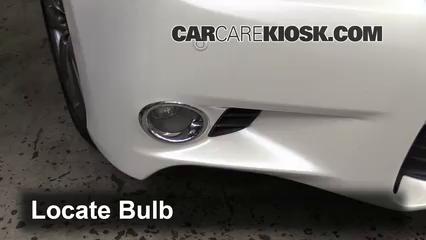 2013 Lexus GS350 3.5L V6 Lights Fog Light (replace bulb)
