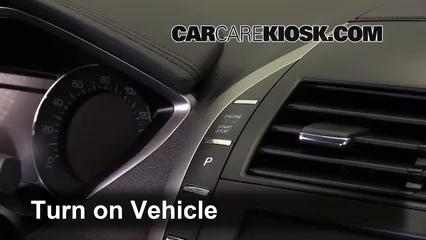 2013 Lincoln MKZ 2.0L 4 Cyl. Turbo Bluetooth Pair Phone