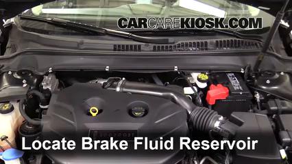 2017 Lincoln MKZ Premiere 2.0L 4 Cyl. Turbo Brake Fluid