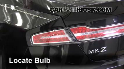 2013 Lincoln MKZ 2.0L 4 Cyl. Turbo Lights