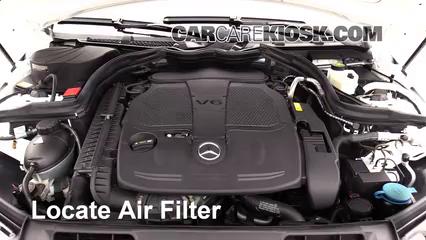 2013 Mercedes-Benz C300 4Matic Sport 3.5L V6 Air Filter (Engine)