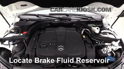 2013 Mercedes-Benz C300 4Matic Sport 3.5L V6 Brake Fluid