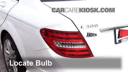 2013 Mercedes-Benz C300 4Matic Sport 3.5L V6 Lights Brake Light (replace bulb)