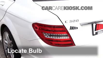 2013 Mercedes-Benz C300 4Matic Sport 3.5L V6 Lights Tail Light (replace bulb)
