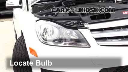 2013 Mercedes-Benz C300 4Matic Sport 3.5L V6 Lights Turn Signal - Front (replace bulb)