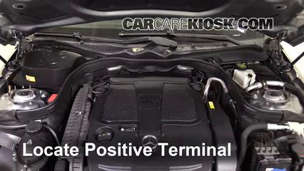 2013 Mercedes-Benz E350 4Matic 3.5L V6 Sedan Battery Jumpstart