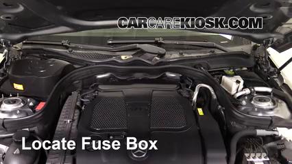 2013 Mercedes-Benz E350 4Matic 3.5L V6 Sedan Fuse (Engine) Check