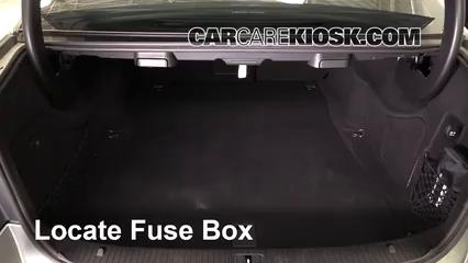 2013 Mercedes-Benz E350 4Matic 3.5L V6 Sedan Fuse (Interior) Replace