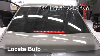 2013 Mercedes-Benz E350 4Matic 3.5L V6 Sedan Lights Center Brake Light (replace bulb)