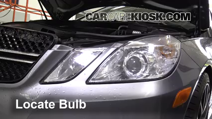 2013 Mercedes-Benz E350 4Matic 3.5L V6 Sedan Lights Daytime Running Light (replace bulb)