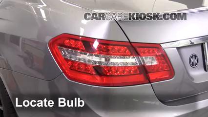 2013 Mercedes-Benz E350 4Matic 3.5L V6 Sedan Lights Tail Light (replace bulb)
