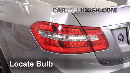 2013 Mercedes-Benz E350 4Matic 3.5L V6 Sedan Lights Turn Signal - Rear (replace bulb)