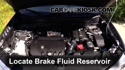 2013 Mitsubishi Outlander Sport ES 2.0L 4 Cyl. Brake Fluid