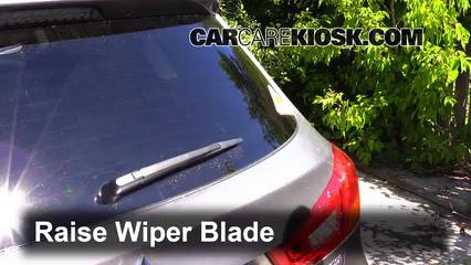 2013 Mitsubishi Outlander Sport ES 2.0L 4 Cyl. Windshield Wiper Blade (Rear)