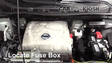 2013 Nissan Leaf SL Electric Fusible (motor) Control