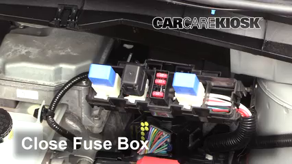Replace a Fuse: 2011-2017 Nissan Leaf - 2013 Nissan Leaf SL Electric | Battery And Fuse Box Nissan |  | CarCareKiosk