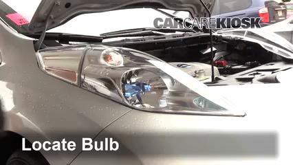 2013 Nissan Leaf SL Electric Luces Faro delantero (reemplazar foco)
