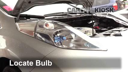 2013 Nissan Leaf SL Electric Luces Luz de estacionamiento (reemplazar foco)