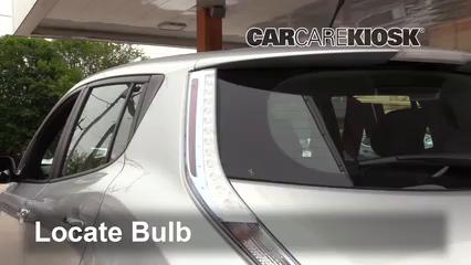 2013 Nissan Leaf SL Electric Luces Luz trasera (reemplazar foco)