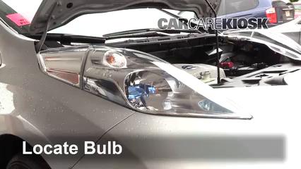 2013 Nissan Leaf SL Electric Luces Luz de giro delantera (reemplazar foco)