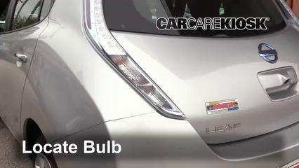 2013 Nissan Leaf SL Electric Luces Luz de giro trasera (reemplazar foco)