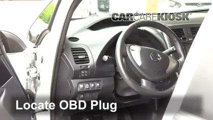 2013 Nissan Leaf SL Electric Compruebe la luz del motor