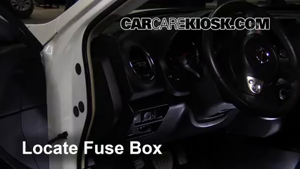 Interior Fuse Box Location 2009 2014 Nissan Maxima 2013 Nissan Maxima Sv 3 5l V6