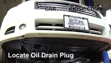 2013 Nissan Maxima SV 3.5L V6 Aceite Cambiar aceite y filtro de aceite