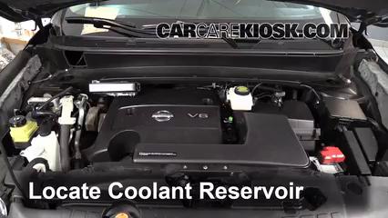 2013 Nissan Pathfinder SV 3.5L V6 Coolant (Antifreeze) Add Coolant