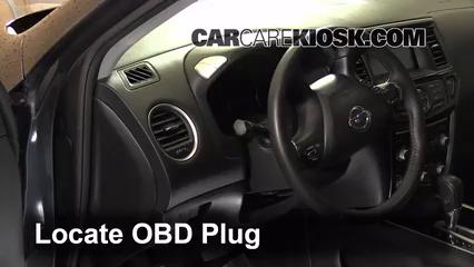 2013 Nissan Pathfinder SV 3.5L V6 Check Engine Light
