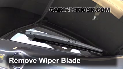 2013 Nissan Pathfinder SV 3.5L V6 Windshield Wiper Blade (Rear)